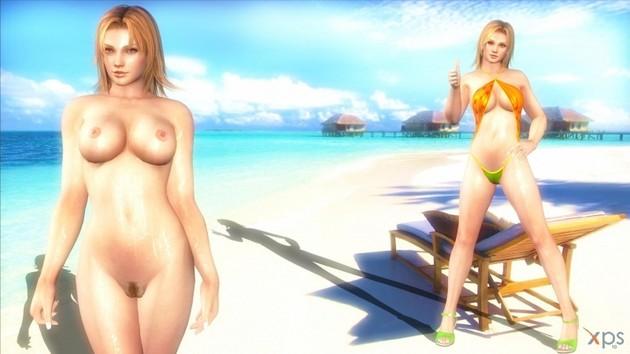 Nudes on a beach-5844